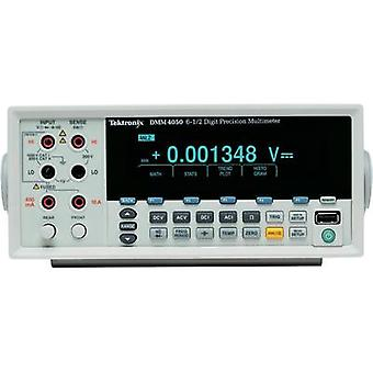 Bench multimeter digital Tektronix DMM4050 Calibrated to: Manufacturer standards CAT II 600 V Display (counts): 200000