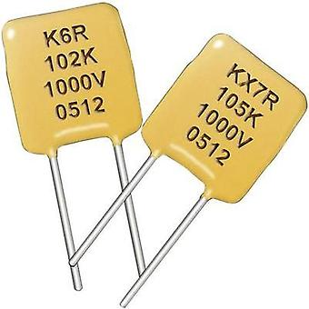 Ceramic capacitor Radial lead 100 nF 50 V 10 %