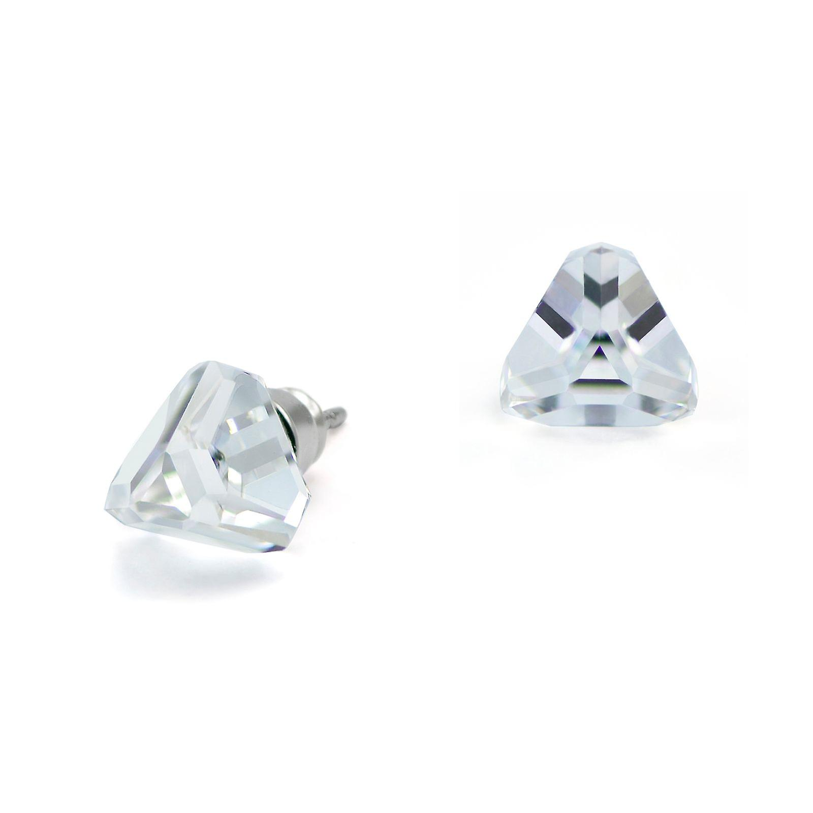 Crystal stud earrings EMB13.4