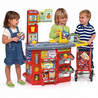 Molto Supermarket + shopping cart (Toys , Home And Professions , Professions)