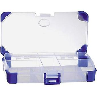 Assortment box (L x W x H) 140 x 70 x 30 mm VISO JAP 1407 No. of compartments: 5 fixed compartments