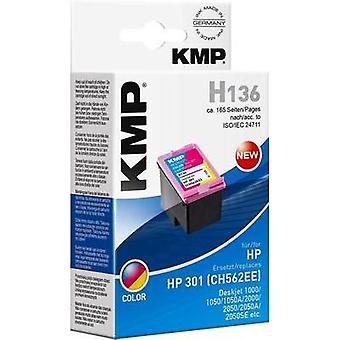 KMP Ink replaced HP 301 Compatible Cyan, Magenta, Yellow H136 1720,4830