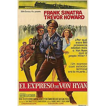 Von Ryans Express filmposter (11 x 17)