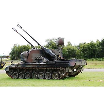 A Gepard anti-aircraft tank of the Belgian Army This tank is currently not in use anymore Poster Print