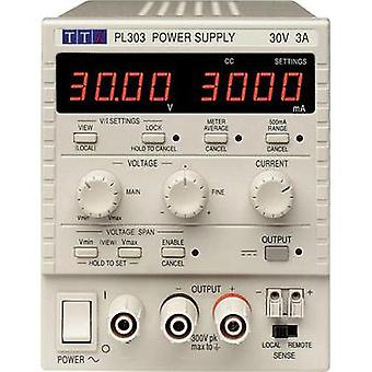 Bench PSU (adjustable voltage) Aim TTi PL303-P 0 - 30 Vdc 0 - 3 A 90 W No. of outputs 1 x