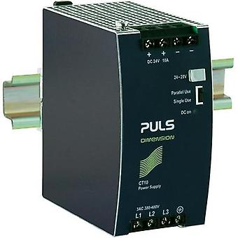 PULS CT10.241 DIMENSION DIN Rail Power Supply 24Vdc 10A 240W, 3-Phase