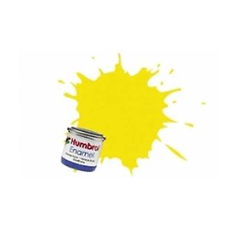Humbrol Enamel Paint 14ML No 99 Lemon - Matt