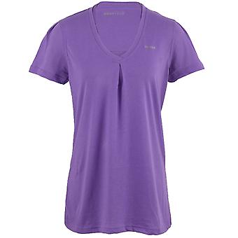 Reebok EasyTone Double Womens formation Fitness T-Shirt Tee violet