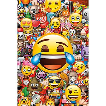 Collage de Emoji Maxi Poster