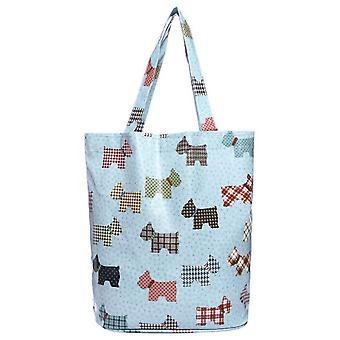 Jewel City Dogs Pattern Waterproof bag - Green (Fashion accesories , Bags , Backpacks)