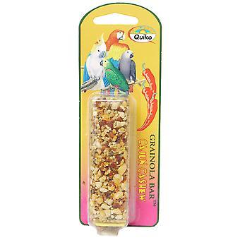 Quiko Bird Grainola Cajun Cashew 71g (Pack of 6)