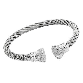 Burgmeister Bangle with Cubic Zirconia JBM3029-521