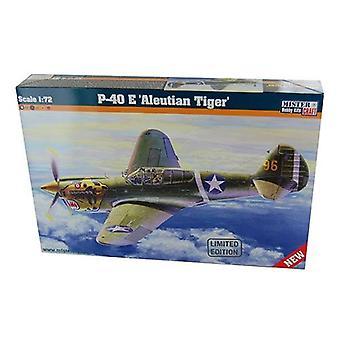 Mister håndværk Model Kit - P-40 E Aleutian Tiger fly - 1: 72 skala - D-202 - ny