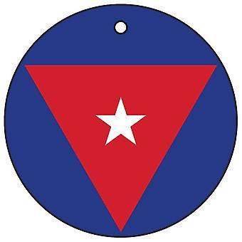 Cuban Air Force Roundel Car Air Freshener
