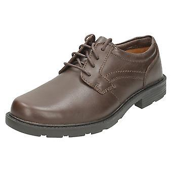 Clarks мужская формальных зашнуровать обувь логово ворота