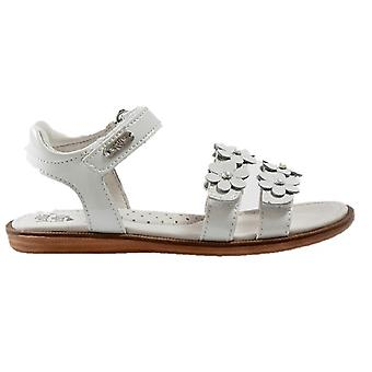 Lelli Kelly Girls Alia LK4444 White Patent Sandals