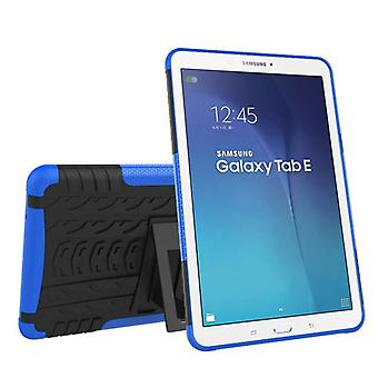 Hybrid outdoor protective cover case blue for Samsung Galaxy tab E 9.6 SM T560 T561 bag