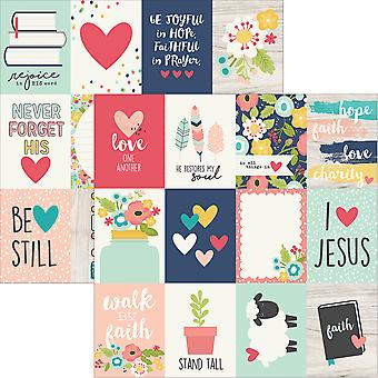 Faith Double-Sided Elements Cardstock 12