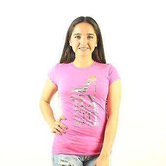 Sex og byen New York folie Print Women's Pink T-shirt