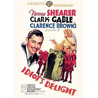 Idiot's Delight [DVD] USA import