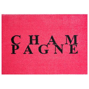 Washable mat rug champagne pink 50 x 70 cm