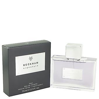David Beckham Men Signature For Him Eau De Toilette Spray By David Beckham