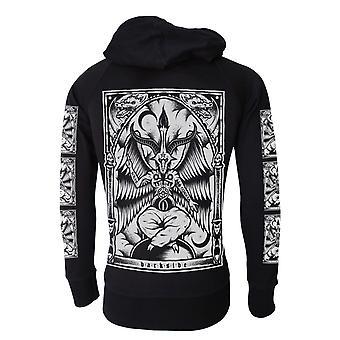 Darkside - baphomet - mens lightweight hoodie - black