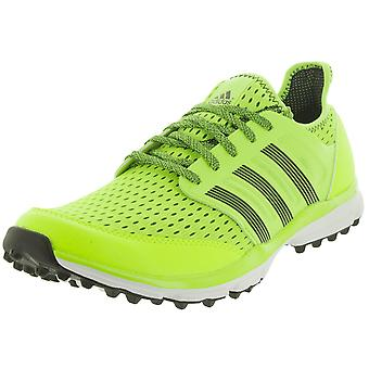 adidas Climacool Mens Spikeless Golf Shoes / Trainers - Solar Yellow