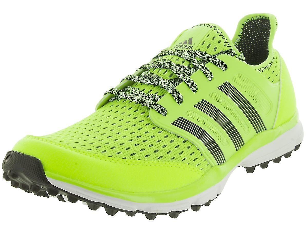 adidas Climacool Mens Spikeless Solar Golf Shoes / Trainers - Solar Spikeless Yellow de2b2d