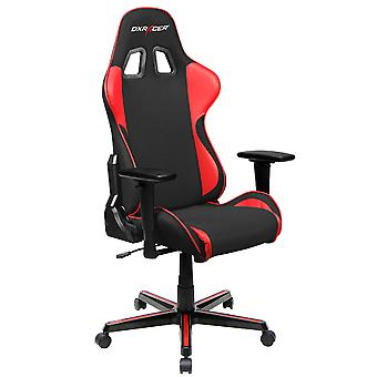 DX Racer DXRacer OH/FH11/NR High-Back Ergonomic Office Desk Chair Strong Mesh+PU(Black/Red)