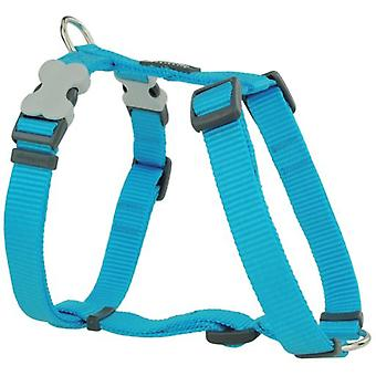 Red Dingo Harness One Touch Smooth Turquoise