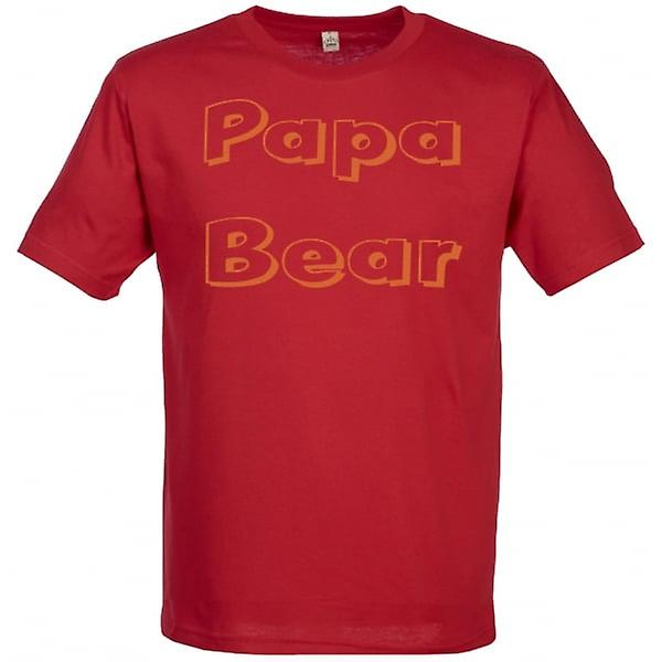 Spoilt Rotten Papa Bear Men's T-Shirt