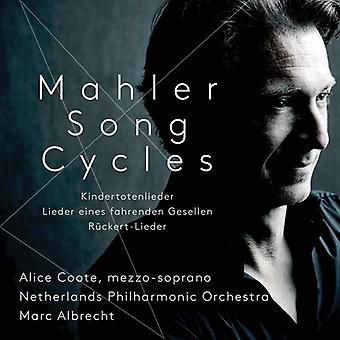 Mahler / Coote / Albrecht - Mahler sang cykler [SACD] USA import