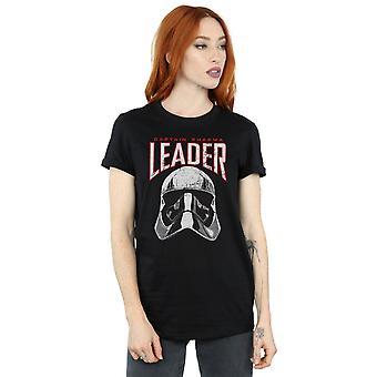 Star Wars kvinder den sidste Jedi leder hjelm kæreste Fit T-Shirt