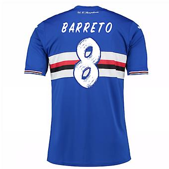 2016 / 17 Sampdoria Home Shirt (Barreto 8)