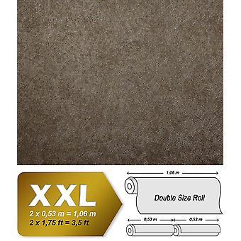 Uni wallpaper EDEM 9009-26 non-woven wallpaper imprinted with abstract silver shiny brown grey 10.65 m2