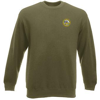 US Army Seal Embroidered Logo - Heavyweight Sweatshirt