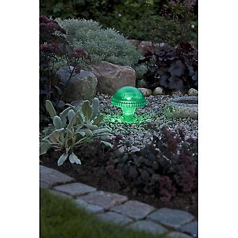 Konstsmide Assisi Green Mushroom Solar Light