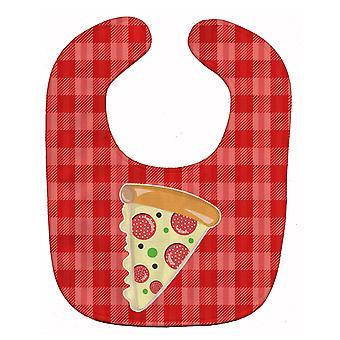Carolines schatten BB7057BIB plak van Pizza Baby slabbetje