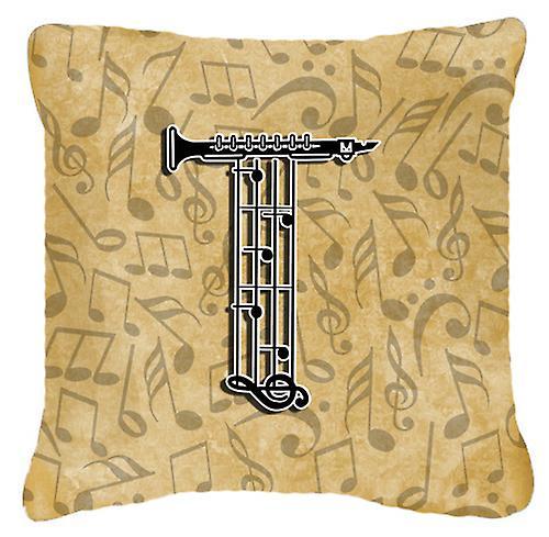 Instrument Musique Décoratif T De Oreiller Lettre Alphabet Toile Tissu OP8kX0wn
