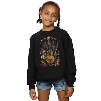 Disney Girls Coco Guitar Poster Sweatshirt
