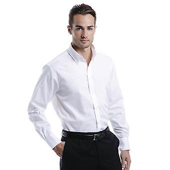 Kustom Kit Mens City Long Sleeve Shirt-KK386