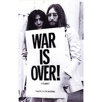 John Lennon - guerra es sobre cartel Poster Print