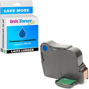 Compatible - Neopost 300206 Blue Franking Ink Cartridge (10181-801)