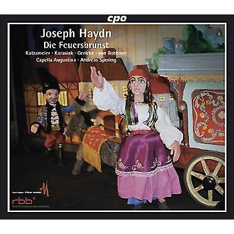 J. Haydn - Joseph Haydn: Die Feuerbrunst (Marionetten-Singspiel) [CD] importation USA
