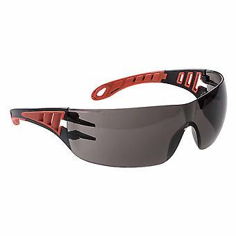 Portwest - Tech Look lätta moderna metall fri dielektriska säkerhet glasögon
