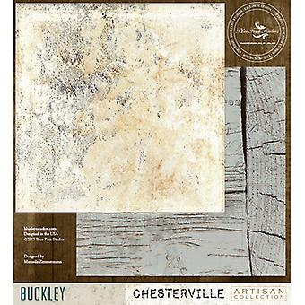 Blue Fern Chesterville Double-Sided Cardstock 12