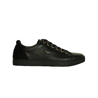 Dolce E Gabbana men's CS1494AB93789850 black leather of sneakers