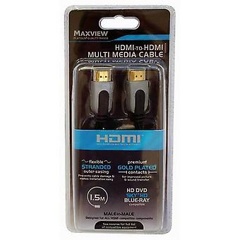 Maxview HDMI To HDMI Multimedia Cable