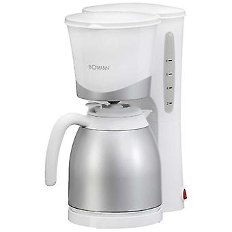 Bomann Coffeemaker with thermal KA 168 white
